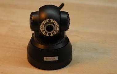 IP Kamera mit Bewegungsmelder